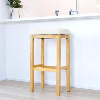 Firth 29 Bar Stool Color: Natural