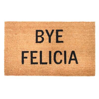 Tillotson Bye Felicia Vinyl Back Coco Doormat
