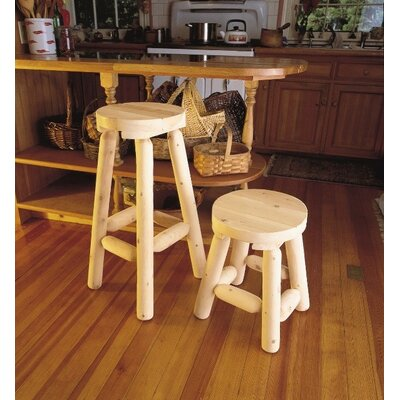 Onion Creek 2 Piece Bar Stool Set Size: 30 H x 34 W x 34 D