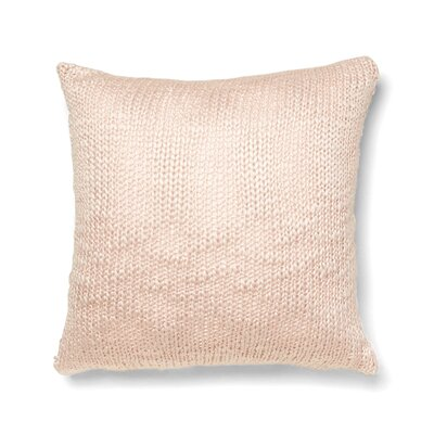 Decan Cotton Throw Pillow Color: Petal Pink