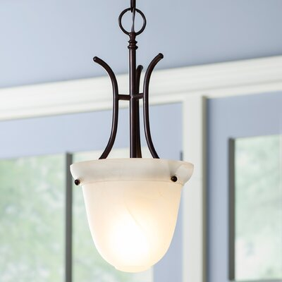 Barrett 1-Light Foyer Pendant Finish: Oil Rubbed Bronze