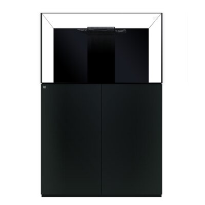 Aquarium kit Size: 34 H x 36 W x 24 D, Finish: Black