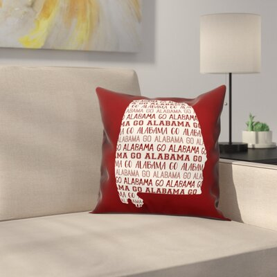 Alabama Go Team Throw Pillow