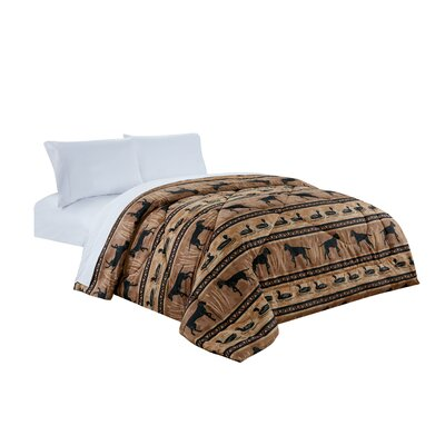 Cottage Creek All Season Down Comforter Size: King