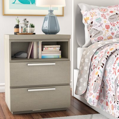 Leland 2 Drawer Nightstand