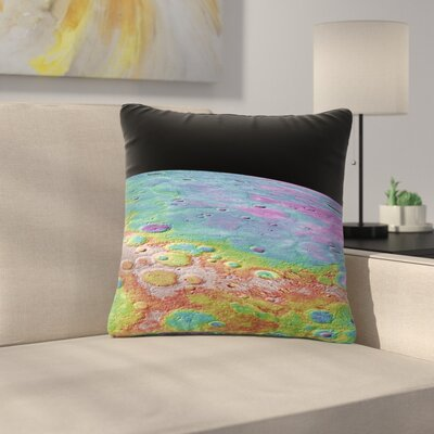 Alias Mercurys Closeup Abstract Outdoor Throw Pillow Size: 16 H x 16 W x 5 D