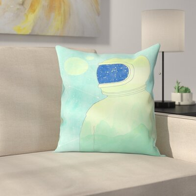 Wanderer Within Throw Pillow Size: 14 x 14