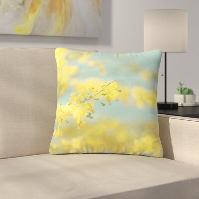Sylvia Coomes Blooms 2 Outdoor Throw Pillow Size: 18 H x 18 W x 5 D