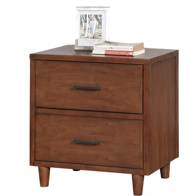 Cleveland 2 Drawer Nightstand