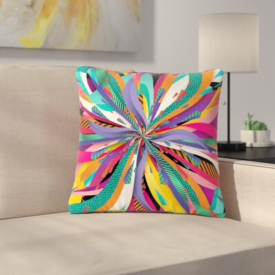 Danny Ivan Pop Abstract Outdoor Throw Pillow Size: 16 H x 16 W x 5 D