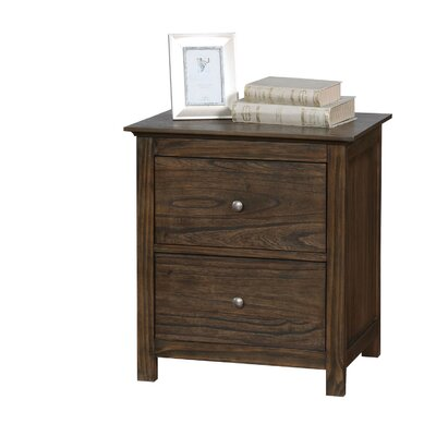 Loken 2 Drawer Nightstand