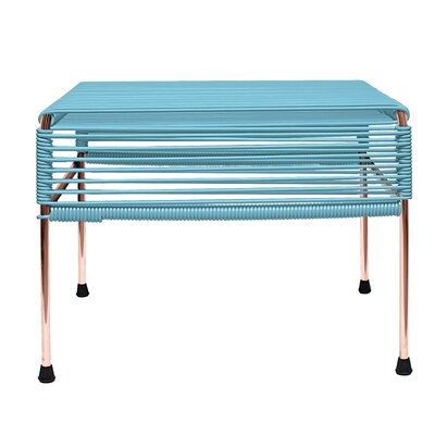 Cobbey Ottoman Finish: Copper/Blue