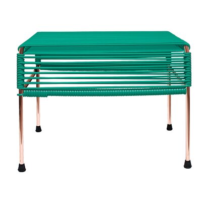 Cobbey Ottoman Finish: Copper/Turquoise