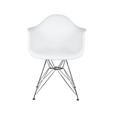 Drummans Dining Chair Color: White