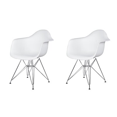 Druminagh Dining Chair Color: White