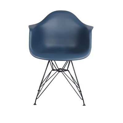 Drumcullen Dining Chair Color: Navy Blue