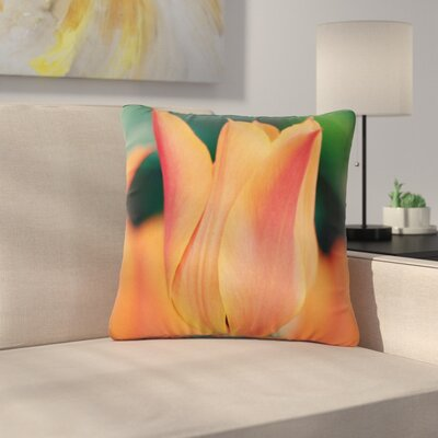 Angie Turner Tulip Outdoor Throw Pillow Size: 18 H x 18 W x 5 D