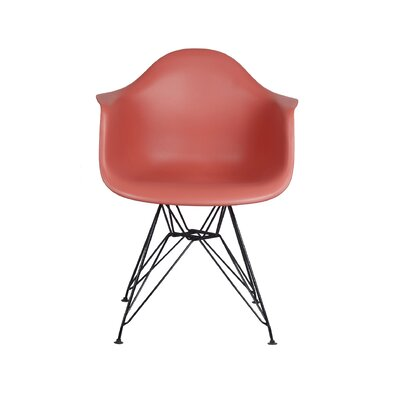 Drummans Dining Chair Color: Red