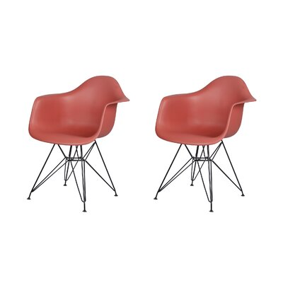 Druminagh Dining Chair Color: Red