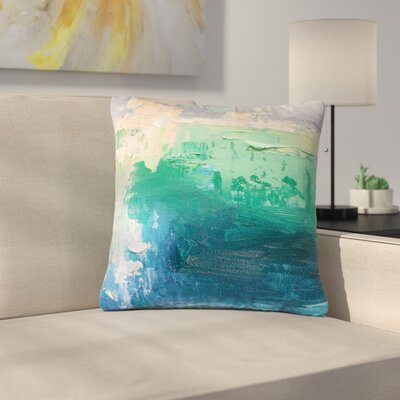 Carol Schiff Sea Music Painting Outdoor Throw Pillow Size: 18 H x 18 W x 5 D