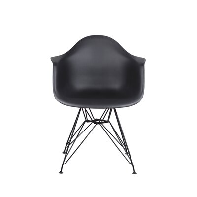 Drummans Dining Chair Color: Black