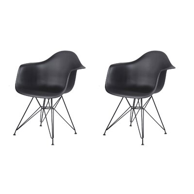Druminagh Dining Chair Color: Black