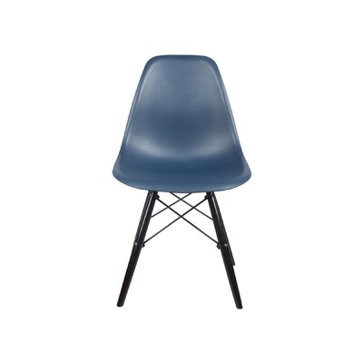 Drumakeely Dining Chair Color: Navy Blue