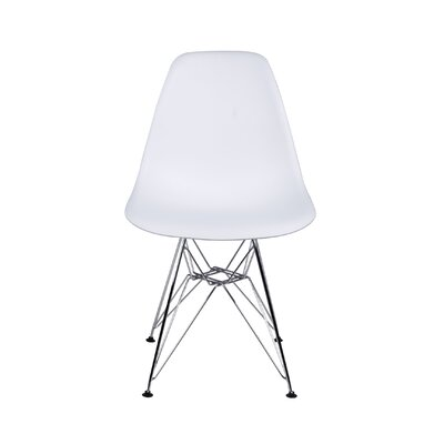Dreyer Dining Chair Color: White