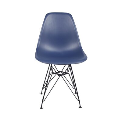 Dreyer Dining Chair Color: Navy Blue
