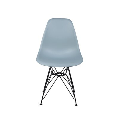 Drewes Dining Chair Color: Fog Gray