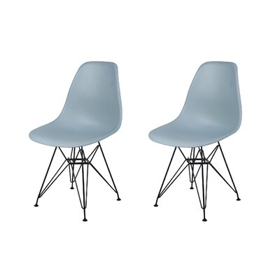 Drexel Dining Chair Color: Fog Gray