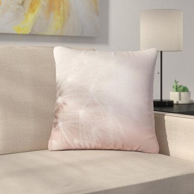 Dandelion Dreams Floral Outdoor Throw Pillow Size: 18 H x 18 W x 5 D