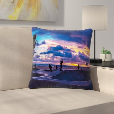 Juan Paolo Dogtown Outdoor Throw Pillow Size: 18 H x 18 W x 5 D