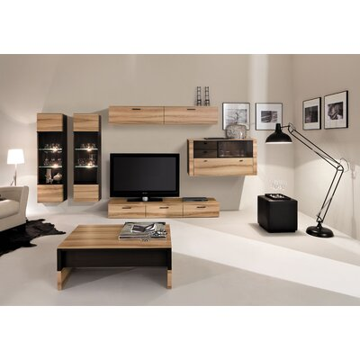 Harkless Wall Unit Entertainment Center (Set of 2)