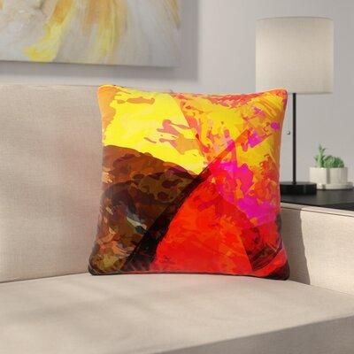 Matthias Hennig Into the Fire Outdoor Throw Pillow Size: 16 H x 16 W x 5 D