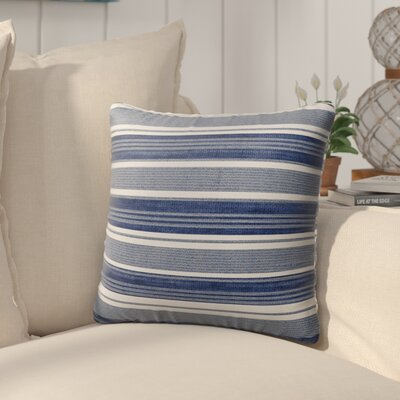Pinehurst Outdoor Throw Pillow Size: 16 H x 16 W x 5 D, Color: Blue
