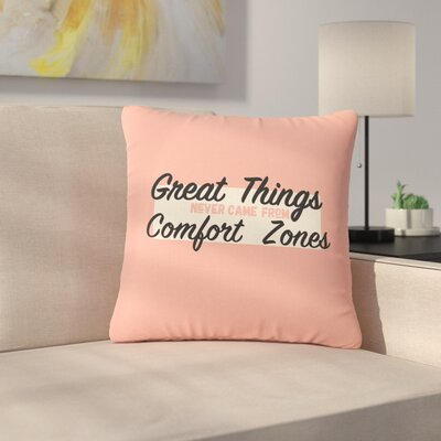Juan Paolo Great Things Digital Vintage Outdoor Throw Pillow Size: 16 H x 16 W x 5 D
