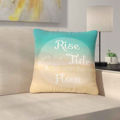 Alison Coxon Rise with the Tide Outdoor Throw Pillow Size: 18 H x 18 W x 5 D