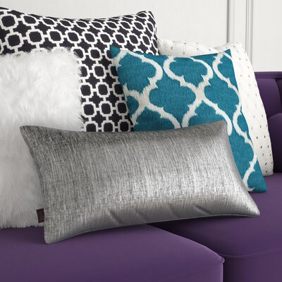 Alas Kidney Lumbar Pillow Color: Zinc