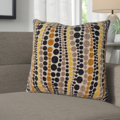 Burdell Throw Pillow Color: Lemoncello