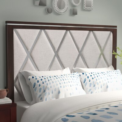 Lonny Contemporary Panel Headboard Size: Queen