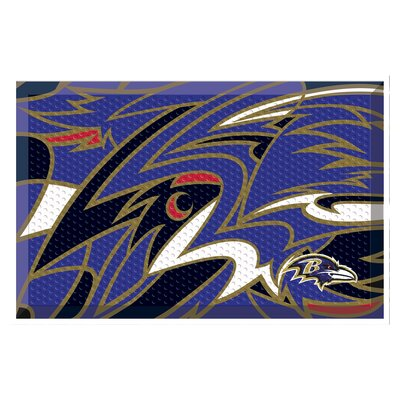 NFL Utility Mat Team: Baltimore Ravens
