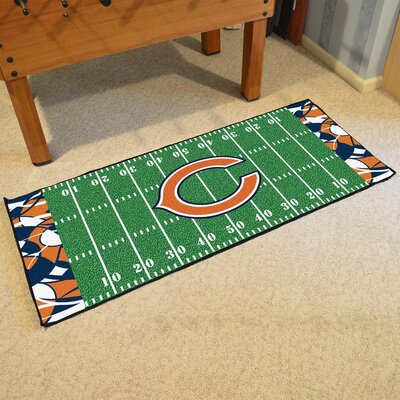 NFL Green Area Rug Team: Chicago Bears