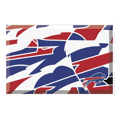 NFL Utility Mat Team: Buffalo Bills