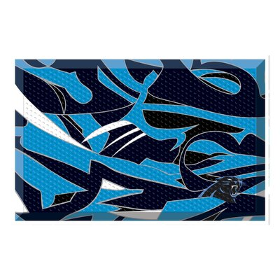 NFL Utility Mat Team: Carolina Panthers