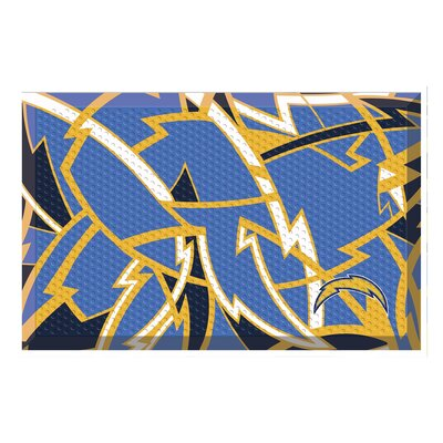 NFL Utility Mat Team: Los Angeles Chargers
