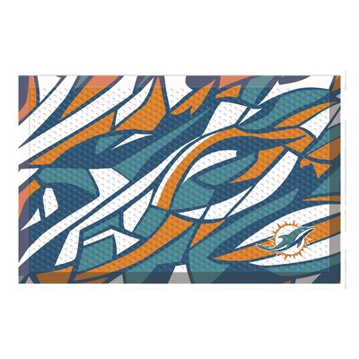 NFL Utility Mat Team: Miami Dolphins