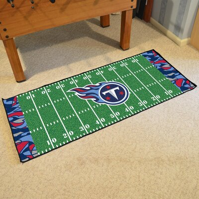 NFL Green Area Rug Team: Tennessee Titans