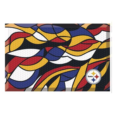 NFL Utility Mat Team: Pittsburgh Steelers