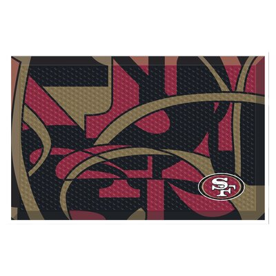 NFL Utility Mat Team: San Francisco 49ers
